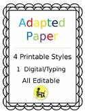 Adapted Paper