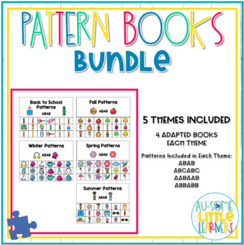 Adapted Pattern Books - BUNDLE - Special Education