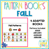 Adapted Pattern Books - Fall - Special Education