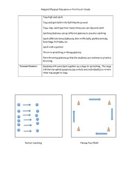 Adapted Physical Education Catch Skill