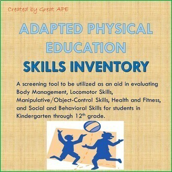 Adapted Physical Education Skills Inventory