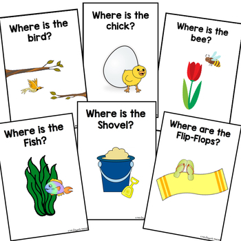 Adapted Preposition Books- Year-Round, 12-Book BUNDLE