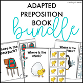 Seasonal Adapted Books Prepositions | Preposition Activities