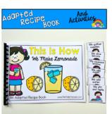Adapted Recipe Book:  This Is How We Make Lemonade