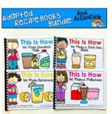 Adapted Recipe Books:  Summer Fun Bundle