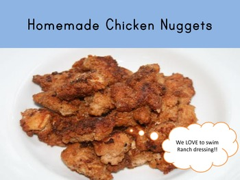 Adapted Recipe - Chicken Nuggets