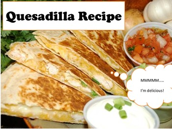 Adapted Recipe - Quesadillas