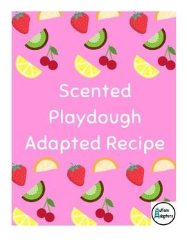 Adapted Recipe - Scented Playdough