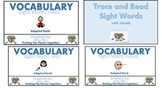 Adapted (SIGHT WORD) bundle book