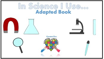 Adapted Science Equipment Book