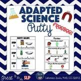 Adapted Science Experiment- PUTTY  *Freebie*