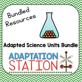 Adapted Science Resources Bundle-A VAAP Support
