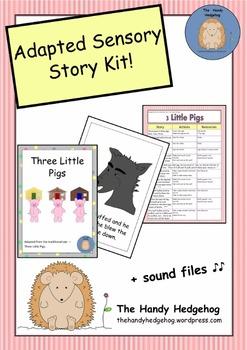 Adapted Sensory Story: Three Little Pigs
