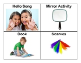 Adapted/Sensory Story Time Schedule Images