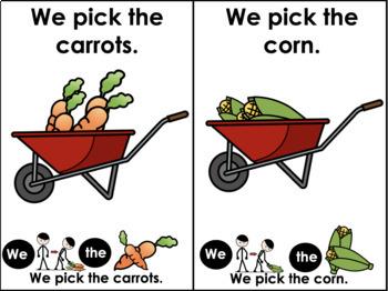 Interactive Sequence Book: How to Plant a Garden
