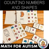 SHAPES NUMBERS AND COUNTING MATH ACTIVITIES FOR AUTISM AND