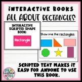 Rectangle:  Interactive Adapted Book