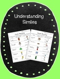 Adapted Similes Activity with Symbol Supported Text