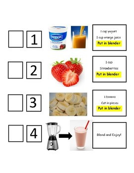 Adapted Smoothie Recipe