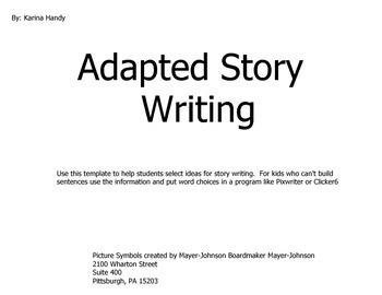 Adapted Story Writing