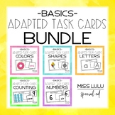 Adapted Task Card Basics BUNDLE