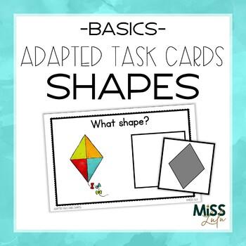 Adapted Task Cards Basics: Shapes