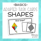 Adapted Task Cards Basics: Shapes