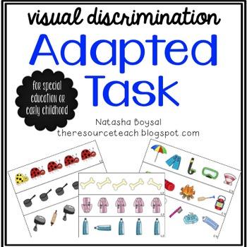 Adapted Task (visual discrimination)