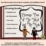 Adapted Text Bundle: The Strange Case of Dr. Jekyll and Mr. Hyde