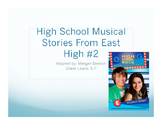 Adapted Text- High School Musical 2