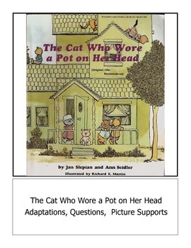 Adapted The Cat Who Wore a Pot On Her Head