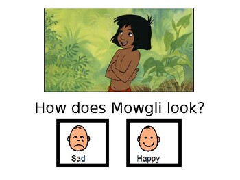 """Adapted """"The Jungle Book"""" with worksheets"""