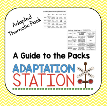 Adapted Thematic Pack: A Guide to the Packs