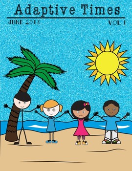 Adaptive Times Magazine June Special Education Autism Reading