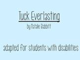 Adapted Tuck Everlasting