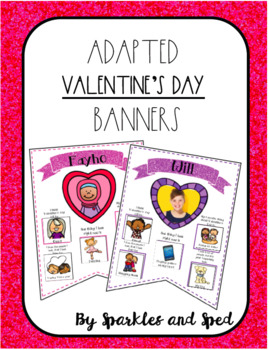 Adapted Valentines Day Banner Set