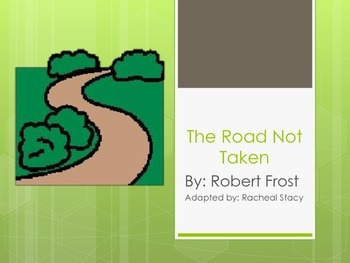 "Adapted Version of ""The Road Not Taken"" By Robert Frost"