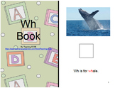 Adapted WH Consonant Digraph Book : AUTISM