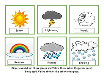 Adapted Weather book