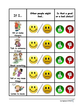 Adapted Work Packet: What Can I Do When I Don't Get My Way?