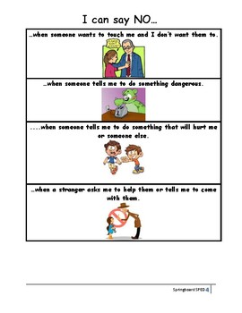 Adapted Work Packet: When Can I Say NO?
