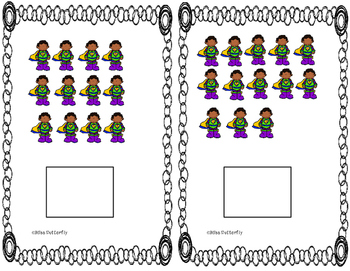 Adapted book - Counting Superheroes 11 - 20