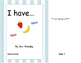 Adapted book - I have... numbers & fruit