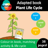 Plant Life Cycle ADAPTED BOOK (level 1, level 2 and level 3) & activities