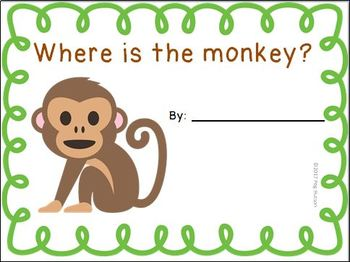 Interactive Book: Where is the Monkey?
