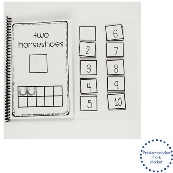 ADAPTED BOOK : COUNTING TO TEN, MATCHING, PICTOGRAPH & WH-QUESTIONS