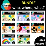Adapted book GROWING BUNDLE: who, where, what? Level 1, Le