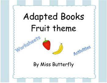 Adapted books - Fruit Bundle