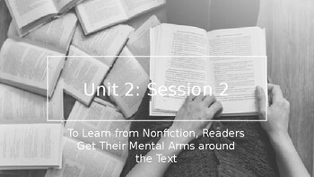 Adapted from Lucy Calkins Informational Reading- 4th Grade Unit 2 - Session 2