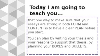 Adapted from Lucy Calkins Opinion 4th Grade Unit 2 - Session 6 - Choosing Thesis